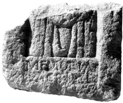 Epitaphe de Sacrilla
