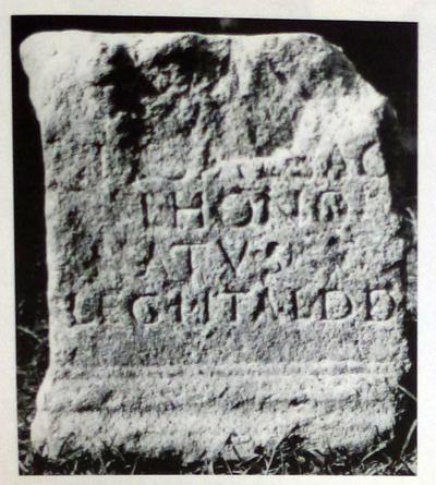 Dédicace à Hygie par Flavius Honoratus, centurion de la Ière légion Italica