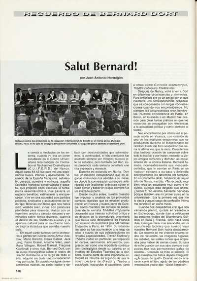 Salut Bernard!
