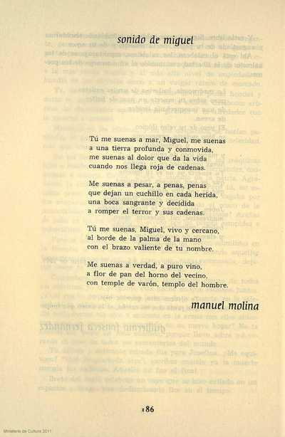 Sonido de Miguel