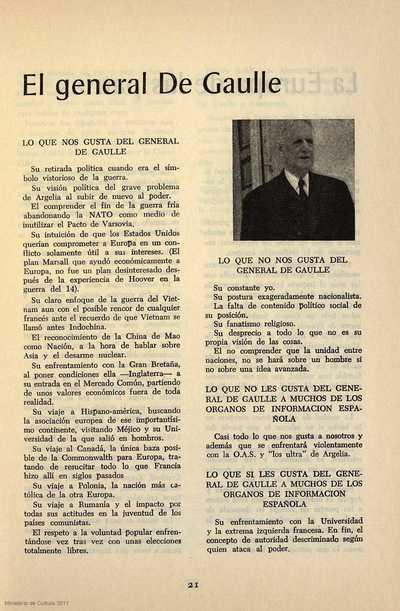 El general De Gaulle