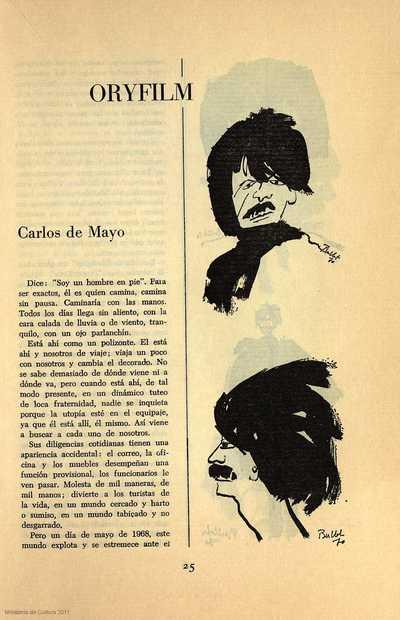 Oryfilm. Carlos de Mayo