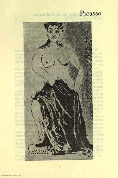 Picasso en la prehistoria (Esquema en piel)