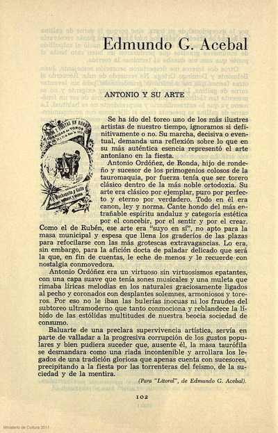 Antonio y su arte