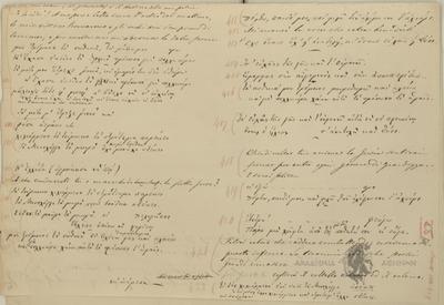 Αυτόγραφα Σολωμού - Ελεύθεροι Πολιορκημένοι, Σχεδίασμα Β΄, Αντίγραφο Ιάκωβου Πολυλά.