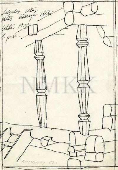 zīmējums, skice