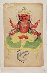[Kalighat paintings - separate sheets]