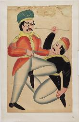 [Kalighat paintings - separate sheets]