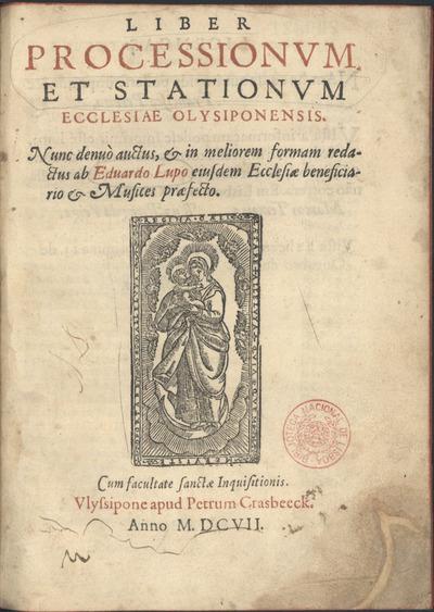 Liber processionum et stationum ecclesiae olysiponensis