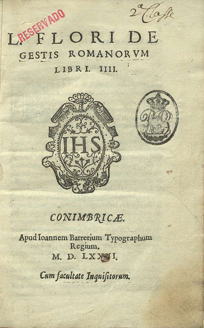L. Flori De gestis romanorum libri IIIJ