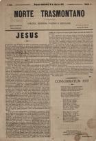 Norte transmontano semanario religioso, politico e litterario