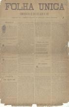 A folha única comemorativo do dia 9 Julho de 1882
