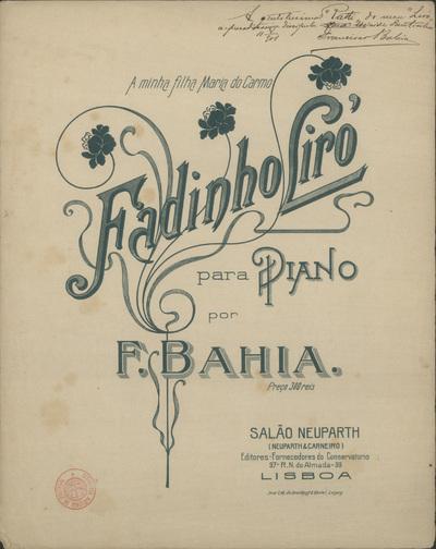 Fadinho Liró: para piano