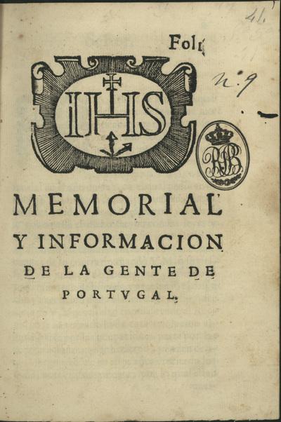 Memorial y informacion de la gente de Portugal