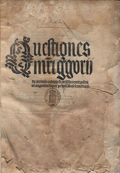 Lectura super primum librum Setentiarum