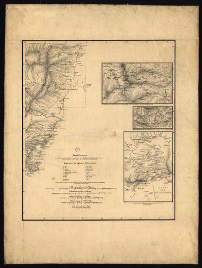 [Carta da costa do Brasil entre Santa Cruz e Cabo de S. Tomé-Espirito Santo]