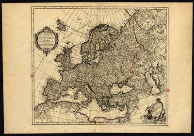 La Europa dividida en sus principales estados