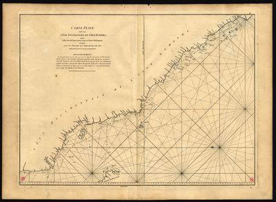 Carte plate de la côte occidentale de lªisle Sumatra, depuis la Riviere de Touroumane jusquªa la Pointe dªIndrapour