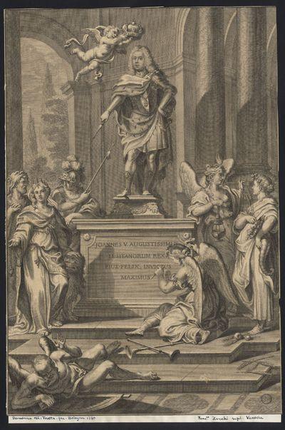 Joannes V Augustissimus Lusitanorum Rex Pius, Felix, Invictus Maximus