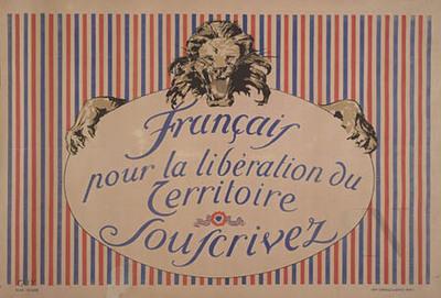 Français - pour la libération du territoire, souscrivez
