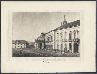 Real Palacio das Necessidades em Lisboa