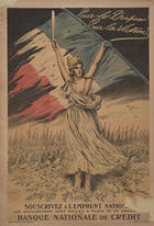 Pour le drapeau! - pour la victoire! souscrivez à l' Emprunt National