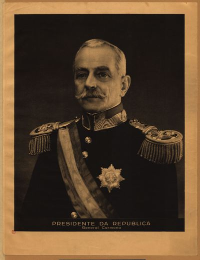 General Carmona, Presidente da Republica