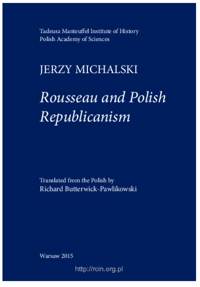 Rousseau and Polish Republicanism