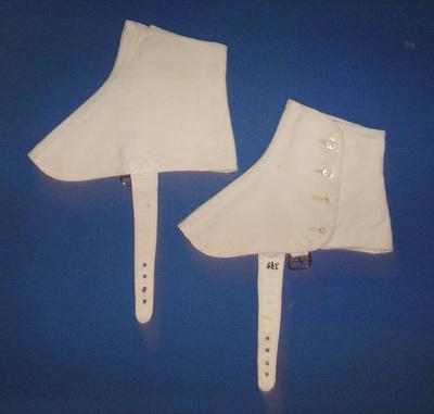 Spats, worn by Djordje Roš from Belgrade.