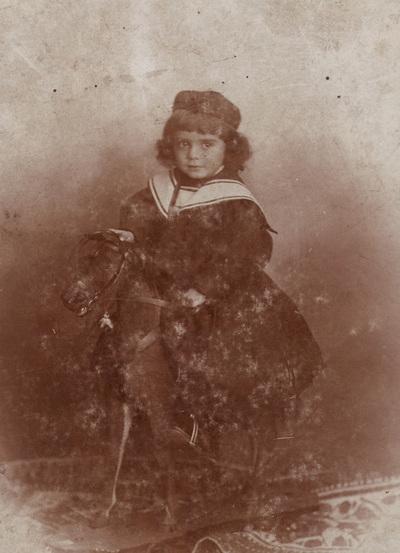 Portrait of a boy Dragomir Pavlovic