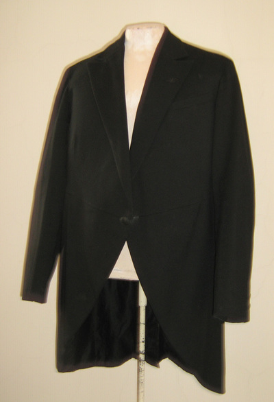 Frock coat; worn by Nikola Jorgovanović from Belgrade