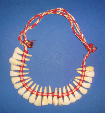 Necklace; worn by Gordana Vasić from Belgrade