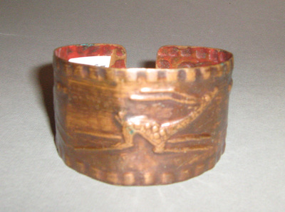 Bracelet; worn by Gordana Vasić from Belgrade
