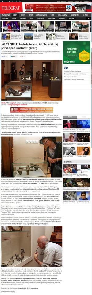 AH, TE CIPELE: Pogledajte novu izložbu u Muzeju primenjene umetnosti (FOTO)