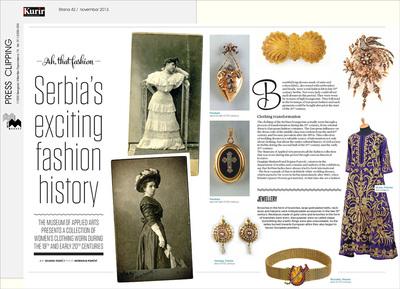 Serbia's Exciting Fashion History