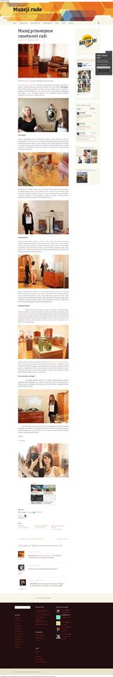 Muzej primenjene umetnosti radi