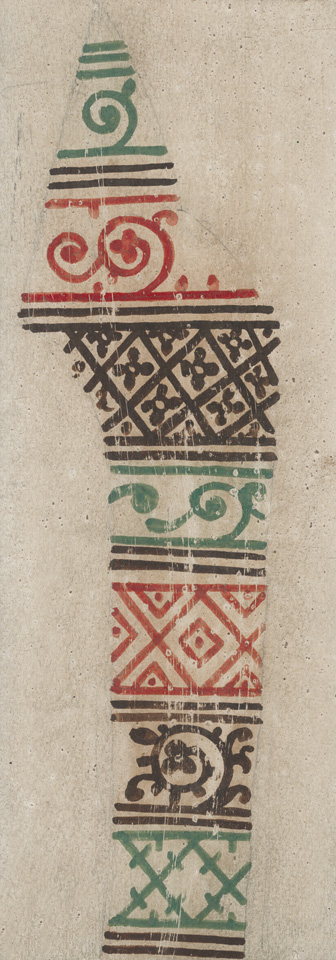 Ornament from the costume of st. Demetrius, altar