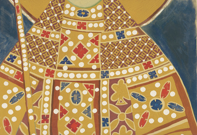 Upper part of the costume of queen Simonida, naos