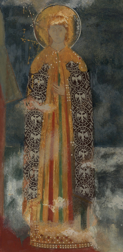 Figure of a princess, naos