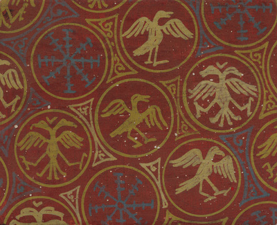 Ornament from the textile, naos, norther wall