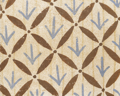 Ornament from the textile, naos