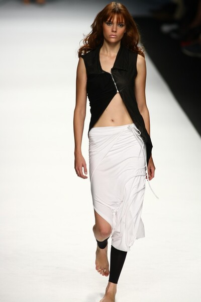 Cristian Luppi (New Upcoming Designers), Spring Summer 2008, Womenswear
