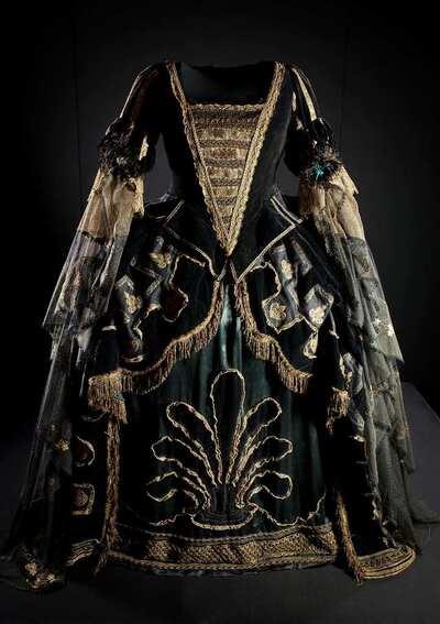 Stage costume  for Ottavia per L'incoronazione di Poppea