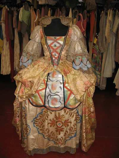 Stage costume  for Poppea