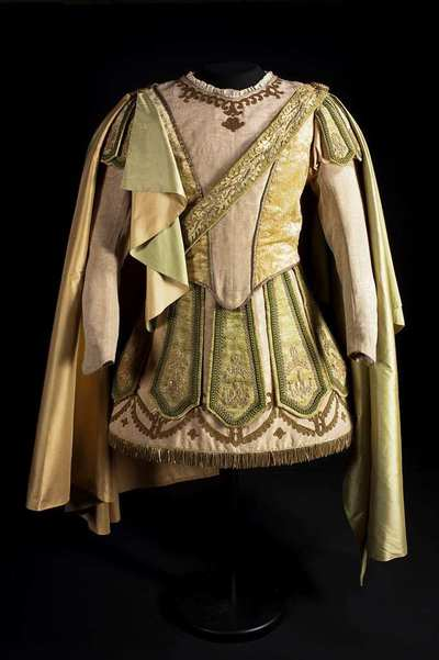 Stage costume  for Medoro per Orlando