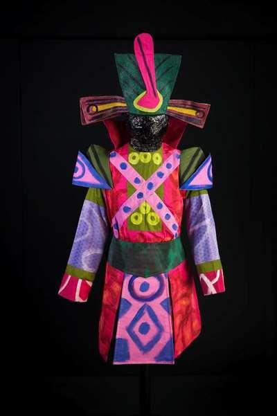 Stage costume  for Guerriero cespuglio per Rossignol