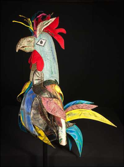 Stage costume  for Uccello meccanico per Rossignol