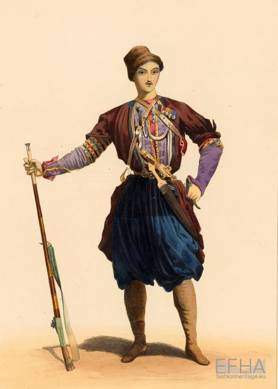 Attire of a Georgian Prince.