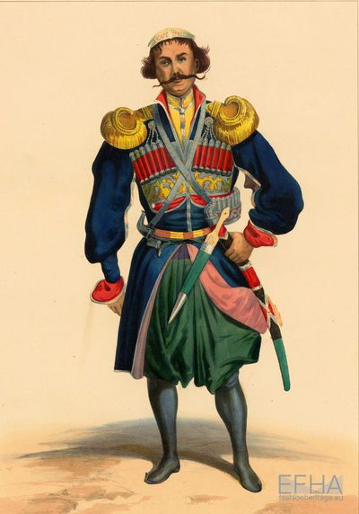 Attire of a Megrelian Prince