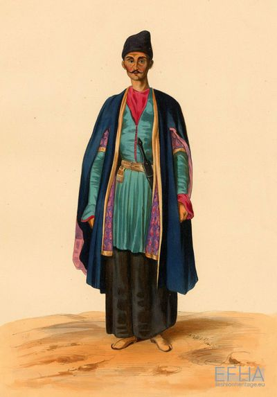 Attire of a Kakhetian.